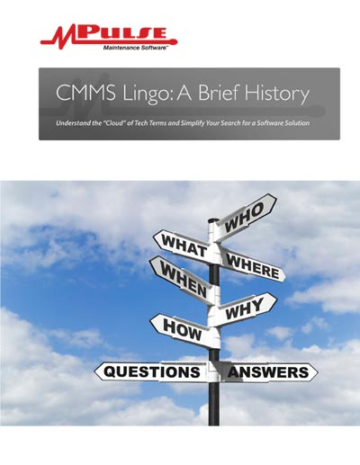 CMMS Lingo: A Brief History
