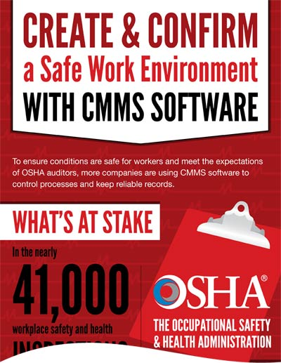 CMMS for a Safer Workplace
