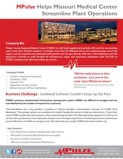 Hospitals and Healthcare: Phelps County Regional Medical Center Streamlines Workflows