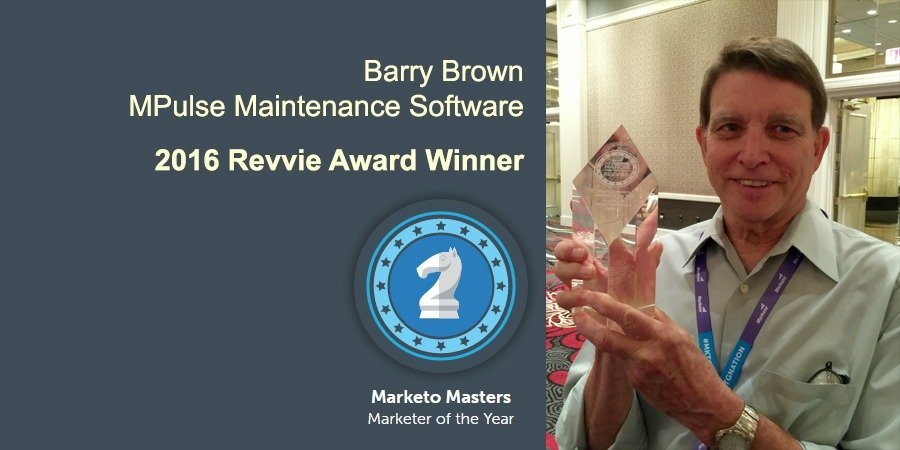 MPulse Digital Marketing Manager Wins 2016 Marketo Revvie Award