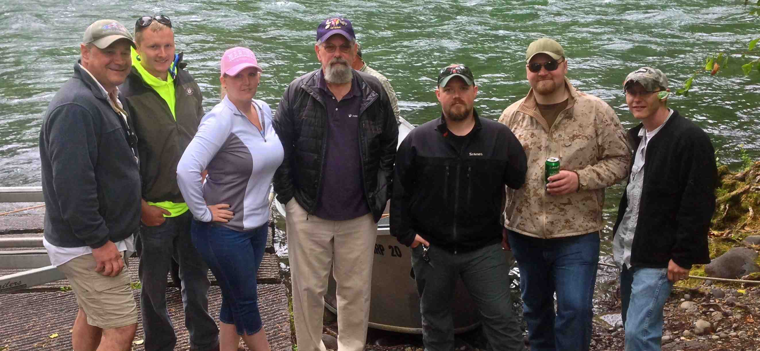 MPulse Supports U.S. Veterans by Sponsoring Fly Fishing Trips for Wounded Soldiers on Oregon's McKenzie River